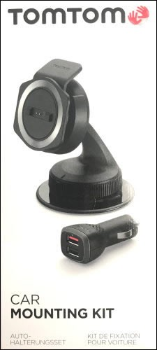 TomTom Car Mounting Kit + Car Charger f. TomTom Rider 400 (2015)
