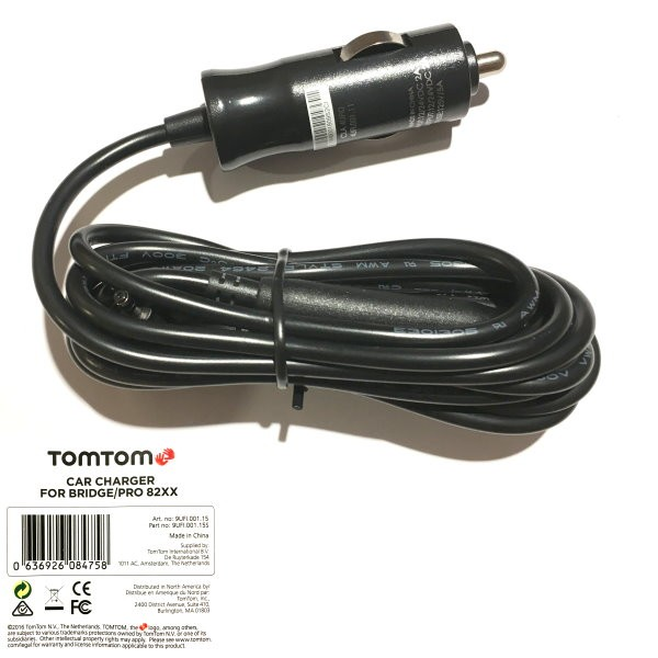 TomTom Car charger f. TomTom PRO 8275