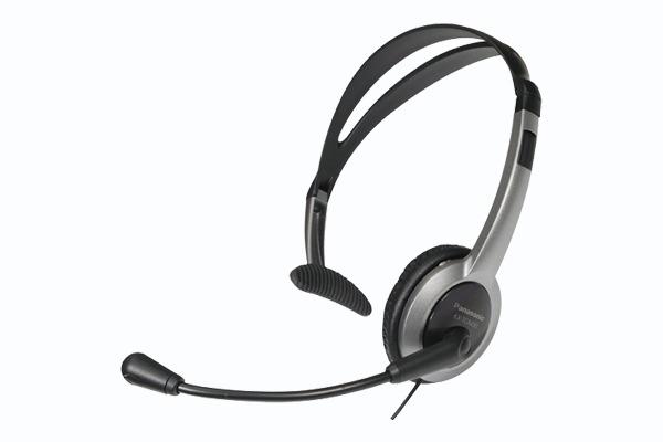 Panasonic over the head headset f. Panasonic KX-TG8061